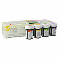 Wilton concerntrated Colour Icing Set - 8 Gel/Paste