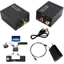Digitale ad analogico Audio convertitore adattatore 3.5mm Jack RCA ottico