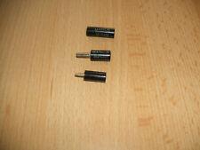 Märklin Metallbaukasten 3 alte Stecker   Erhaltung siehe Foto