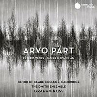 CHOIR OF CLARE COLLEGE CAMBRIDGE THE DMITRI ENSE - ARVO PART: STABAT [CD]