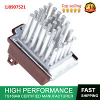1J0907521 A/C Heater Blower Motor Regulator Resistor Fit VW Audi Golf EuroVan TT