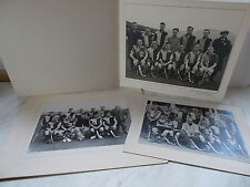 Collection Of Mounted Photographs From The Folkestone Hockey Festival April 1950
