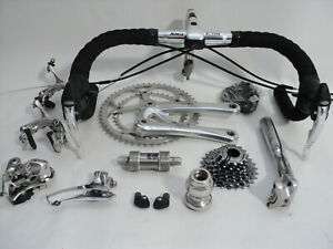 Vintage 90s CAMPAGNOLO ATHENA 8s group set build kit gruppe EXC ! record