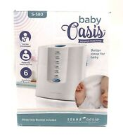 AUTHENTIC SOUND OASIS® BABY OASIS® SOOTHING SOUND MACHINE S-580 SOUND THERAPY