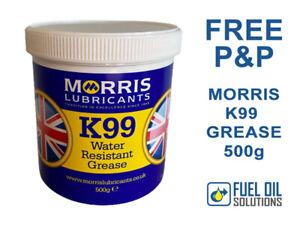 Morris K99 Water Resistant Marine Boat Grease 500g - Waterproof Glands, Bearings