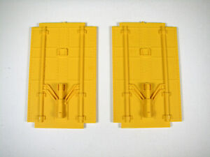 Lionel Large Scale 87100 series Reefer parts: PLUG DOORS, YELLOW, NOS, EXC