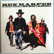 "BEN HARPER - 2 TRACKS FRANCE PROMO CD ""WAITING ON AN ANGEL (LIVE)"" NEW ! NEUF !"