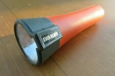 vintage ? ever ready orange and grey torch, has some scratches, untested