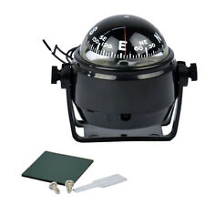 Best Mini Mount Compass LED Light Sea Marine Electronic Digital Car Boat Truck