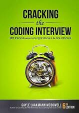 NEW Cracking the Coding Interview: 189 Programming Questions and Solutions