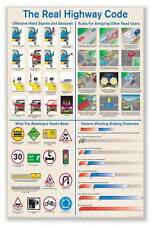 COLLEGE DORM ROOM POSTER PRINT The Real Highway Code