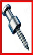 10 x MINAX Schraube Nirosta mit Kreuzschlitz H=25mm Persenningknopf NEU
