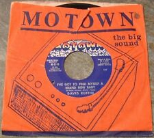 "Northern Soul 45 RPM By David Ruffin, ""I've Got To Find Myself A New Baby"" on Mo"