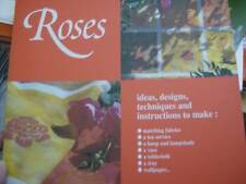 Ideas Books: Roses Painting Book Rose Designs To Make Fabrics, Tea Service, Lamp