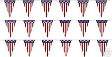 V-SHAPED AMERICAN FLAG 12x18 PENNANT/STREAMERS
