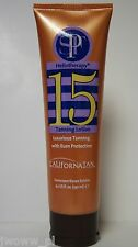 NEW California Tan Heliotherapy SPF 15 Sunscreen Luxurious Burn Protection Creme
