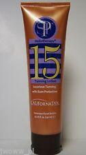 California Tan Heliotherapy SPF 15 Sunscreen Luxurious Burn Protection Creme