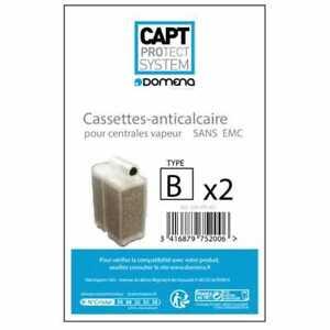 Cassette anti-calcaire non emc type b pour Centrale vapeur Domena