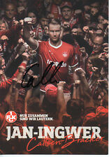 Autogramm - Callsen-Bracker (1. FC Kaiserslautern) 2017/2018  Neu in Winterpause