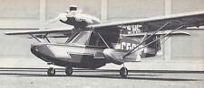 1/6 Scale Falconar Teal Amphibious Airplane Plans, Templates & Instructions 71ws