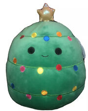 "KellyToy Squishmallows 12"" Carol The Christmas Tree Holiday Edition Plush"