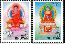 Bhutan 1997 Lord Buddha Buddhism religion Stamps 2v MNH
