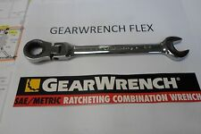 GEARWRENCH FLEX RATCH WRENCH SAE 3/8 7/16 1/2 9/16 5/8 11/16  3/4 combination