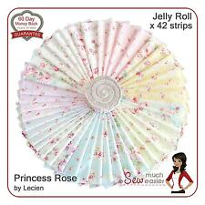 Lecien Jelly Roll Princess Rose Fabric shabby-chic vintage pastel floral fabrics