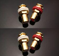 NEW CMC 816-U Gold Plated Female RCA Jack Socket Connector 4PCS