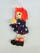 Clip on Hand Grabber Pencil Hugger doll Retro vintage 1970's Raggedy Ann Toy