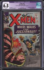 1965 Marvel X-Men #13 CGC Restored Slight (B-1) 6.5 2nd juggernaut 032921DBGD