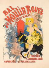 Bal du Moulin Rouge by Jules Cheret 90cm x 64cm Art Paper Print