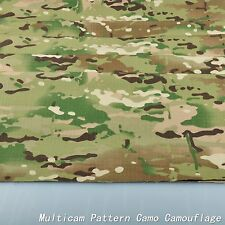 "2-Yards Multicam Pattern Camouflage Cotton Blend 60""W Fabric Cloth for uniform"