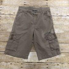 Kenneth Cole Reaction Boys Size 16 Tan Cargo Shorts