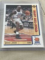 Michael Jordan 1991-92 Upper Deck East All Star Card #4  Spanish Version  Bulls