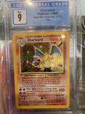 1999 Pokemon Base Set Unlimited Holo Charizard #4 CGC 9 MINT