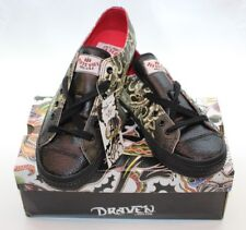 Draven Tokyo Hiro Mens Leather Skate Shoes, Size 8.5, New In Box FAST FREE SHIP!