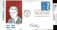 Ted Kennedy Jsa Authenticated Signed Fdc Certed Autograph