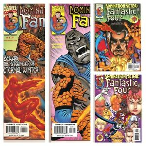 °FANTASTIC FOUR: DOMINATION FACTOR 1.1 bis 4.7° US Marvel 1999 Dan Jurgens