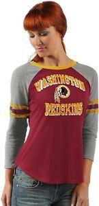 G-III Sports Washington Redskins Women's On The Field 3/4 Sleeve Raglan T-Shirt