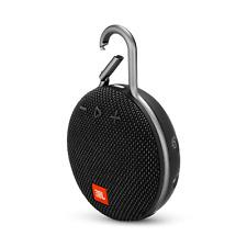 JBL Clip 3 Waterproof Portable Bluetooth Speaker with 10-Hour Battery