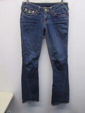True Religion Brand Medium Blue Men's Straight Leg Jeans (Size: 27) Made In USA!