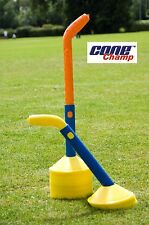 Cone Champ With 50 ROYAL Cones Collects, Stacks & Stores Sport Marker Cones