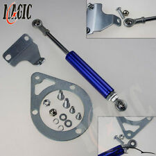 Engine Torque Damper Brace Mounting Kit For 89-94 240SX S13 SR20DET KA24DE Blue