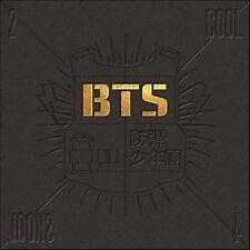 K-Pop Bts 1st Single Album [2 Cool 4 Skool] Cd + Photobook + Postcard Sealed