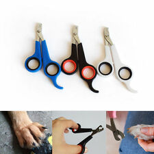 Pet Dog Puppy Cat Rabbit Bird Guinea Pig Claw Nail Clippers Trimmers Scissors