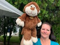 "Dan Dee Collectors Choice Pot Belly Monkey Lovey 14"" Plush Stuffed Animal Toy"