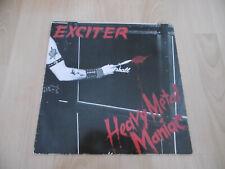Exciter - Heavy Metal Maniac Hülle mit Iron Maiden LP, anschauen! nwobhm, Venom
