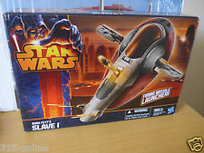 Star Wars Boba Fett,s Slave 1 firing missile launcher action model for ages 4+