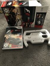 Nintendo Wii Game F1 Formula 1 Game 2009 Boxed With Racing Wheel MIB